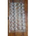 Molde policarbonato para bombones Small Shell