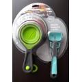 Tazas y cucharitas medidoras