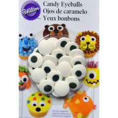 Ojos de caramelo grandes x 28 grs Wilton