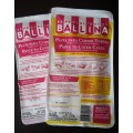 Pasta Ballina x 500 grs sabor vainilla o chocolate
