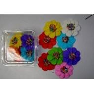 Flores de azúcar Tropical x 8