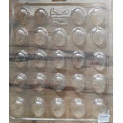 Placa Parpen Huevo de Codorniz x 24