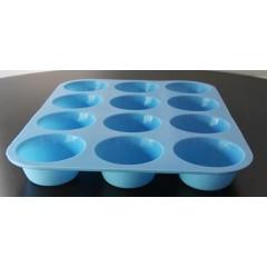 Porta muffins silicona color x 12