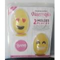 Placa huevo Emojis N`1, 10cm