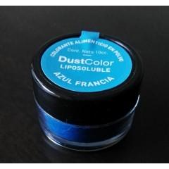 Colorante en polvo liposoluble color Azul Francia