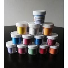 Polvos varios colores Sabores Creativos