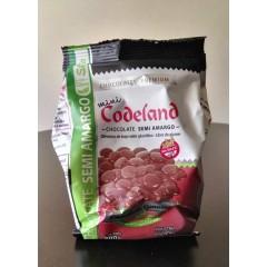 Mini Medallón Codeland sin azucar, dietético x 200 grs semi amargo