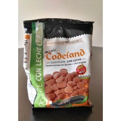 Mini Medallón Codeland Leche sin azúcar diet x 200 grs