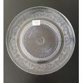 Plato de vidrio 25 cm
