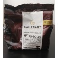 Chocolate cobertura Callebaut amargo x 400 grs