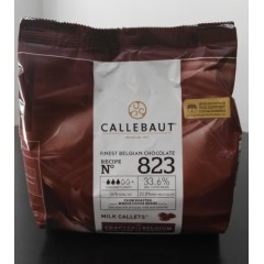 Chocolate cobertura Callebaut Leche x 400 grs
