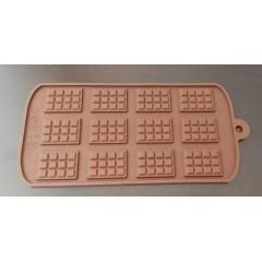 Placa barrita chocolate silicona