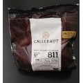 Chocolate cobertura Callebaut Semi amargo x 400 grs