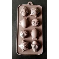 Molde silicona bombón, marino