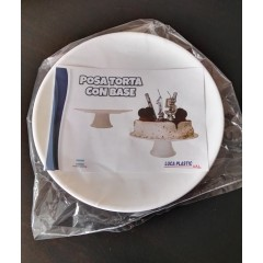 Posa torta plástico