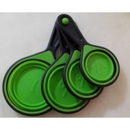 Tazas de medida x 4 unidades silicona