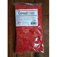 Cereal con chocolate rojo x 200 grs
