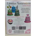 Laminas Texturadoras Parpen flores x 7