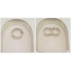 Aro hojalata Minions (cuerpo y dos modelos de ojos)