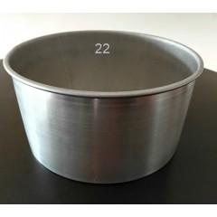 Molde bizcochuelo desmontable 20x11 cm