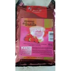 Mousse de frutillas x 800 grs