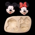 Molde carita mickey -minnie S21