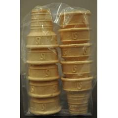 Vasitos para helado x 12 unidades