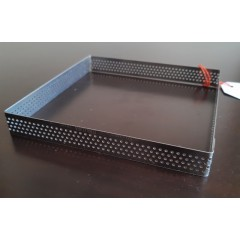 Cintura cuadrada perforada 16x16x2