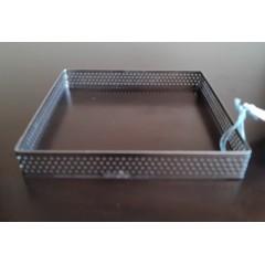 Cintura cuadrada perforada 14x14x2