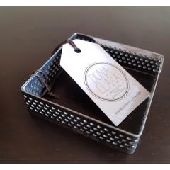 Cintura cuadrada perforada 7x7x2
