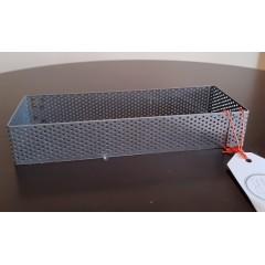 Cintura Rectangular perforada 20x7